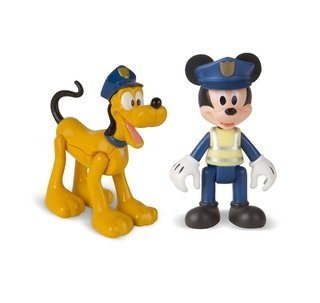 Mickey y Pluto Policias Disney Mickey ant the Roadster IMC TOYS