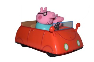 Auto Familiar de Peppa Pig