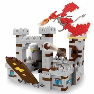 Blocky Castillo Dragones