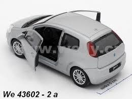 Welly Fiat Punto Escala 1:36