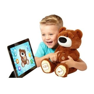 Peluche Luv ´n Learn c/Bluetooth, el Oso Interactivo - 30 cms