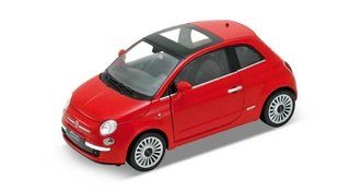 Welly Fiat 500 de Coleccion Escala 1:36