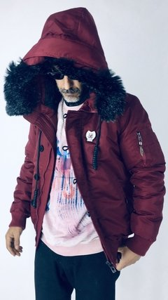 Campera Alpha malbec en internet