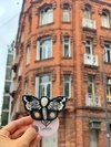 Broche Butterfly Black