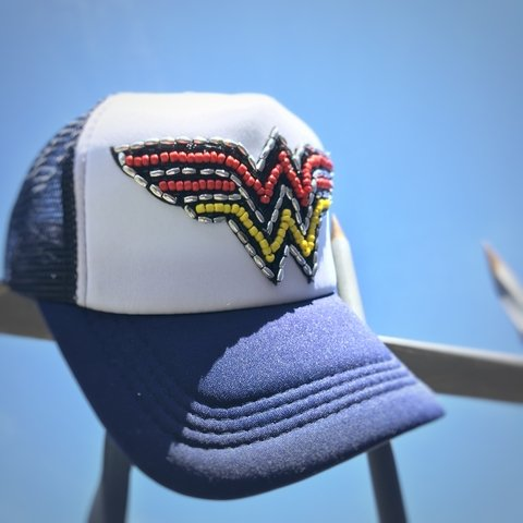 Cap Wonder Woman ( Azul)