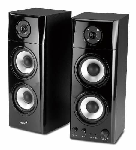 Parlantes Genius Mod. Sp Hf 1800a 50w Rms 3 Vías Tv Smart