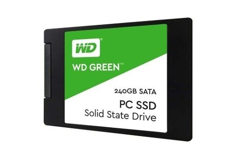 Disco Rígido Hdd Sólido Ssd Western Digital 240gb Green