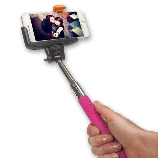 Monopod Selfie Noganet Bluetooth Smartphone Cam Extensible - Royal Systel Informatica SRL