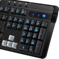 Teclado Gamer Genius Kb G255  Retro Led Usb Keycap Multi Usb