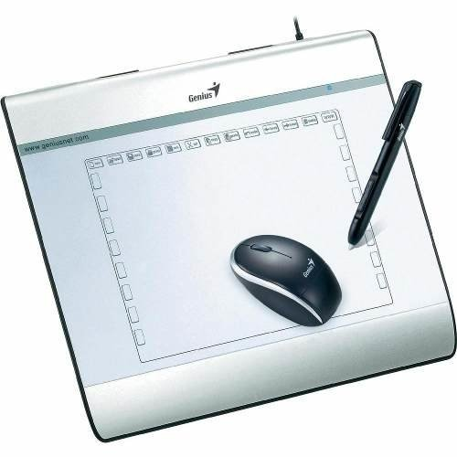 Tableta Digitaliza Genius Mousepen I608 X S Pen Mouse Dibuje - comprar online