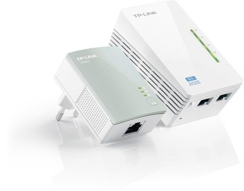 Power Line Tp Link Wpa 4220 Kit Hasta 500 Mbp 300 Mts Royal