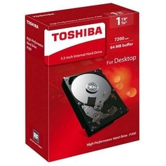 Hdd Pc Box Toshiba 1tb Mod P300 7200rpm 64mb Buffer 3.5 Caja
