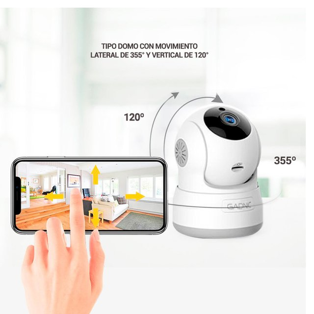 CAMARA IP GANIC P2P00010 WIRELESS P2P HD720 - comprar online