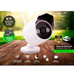 CAMARA IP GANIC P2P00014 WIRELESS P2P HD720 FIJA