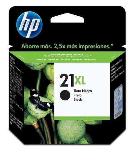 Cartucho Original Hp Negro 21xl - Rend. 475 Pág Royal2002