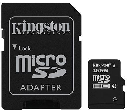 Micro Sd Kingston 16gb Sdhc Class 10 Nokia-motorola-nextel