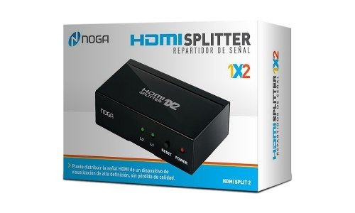 Splitter Hdmi Noganet 1 Hdmi A 2 Hdmi 1200 Px Pc Notebook Tv en internet