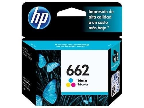 Cartucho Original Hp Color 662 - Rend. 100 Pág Royal2002
