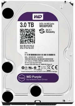 Disco Wd Western Digital Purple Purpura 3tb Vigilancia Royal