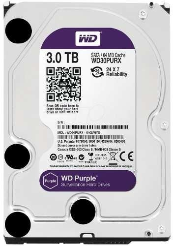 Hd Wd Western Digital Purple Purpura 3tb Vigilancia Royal en internet