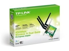 Placa Pci Wireless Tp Link Wr 4800nd Pci Ex 1x 900 Mbps Wifi