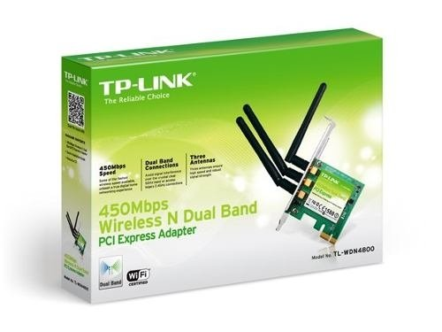 Placa Pci Wireless Tp Link Wr 4800nd Pci Ex 1x 900 Mbps Wifi en internet