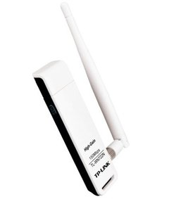 Placa Adaptador Usb Wireless Tp Link Wn 722n 150mb 1 Ant 2db