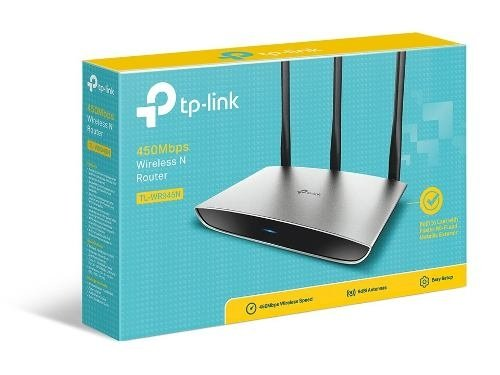 Router Wireless Tp Link 945n 450 Mbps Wifi Wps Lan Wan Royal - Royal Systel Informatica SRL