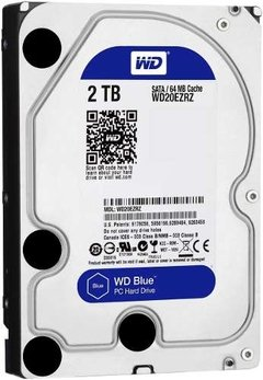 Disco Rígido 2tb Hd Pc 3.5  Western Digital 2 Tb Blue Sata 3