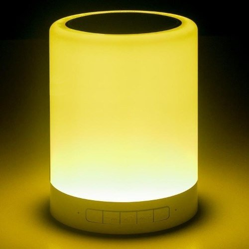 Parlante Bluetooth Portátil Noganet Ng Lamp 5w Luz Led Color - Royal Systel Informatica SRL