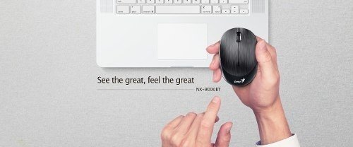 Mouse Genius Bluetooth 4.0 Bateria 9000bt Recargable Blueeye - Royal Systel Informatica SRL