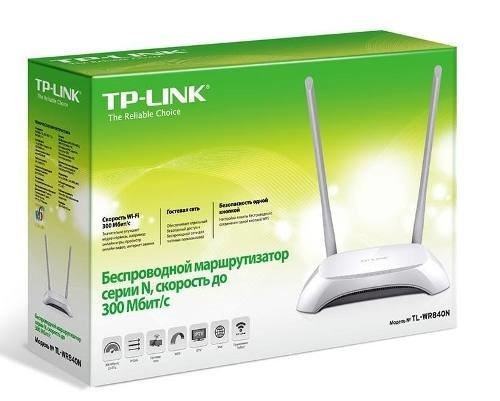 Router Inalámbrico 840n 300mbps 2.4ghz Tp Link 2 Ant Fijas - Royal Systel Informatica SRL