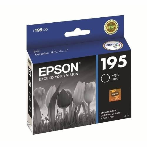 Cartucho Epson Negro Mod 195 Xp 211 Original Royal2002