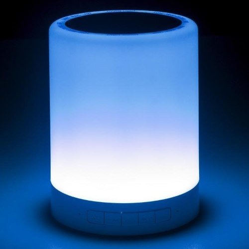 Parlante Bluetooth Portátil Noganet Ng Lamp 5w Luz Led Color en internet