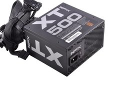 Fuente Gamer Xfx Certificada 80 Plus Bronze  La T 500w 120mm