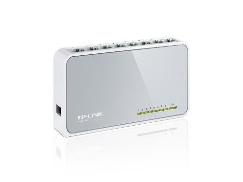Switch Tp-link Tl Sf 1008d 8 Bocas 10/100 Mbps Desktop