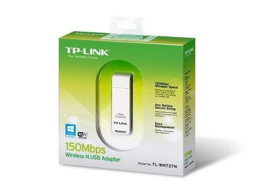 Adaptador Usb Wireless Tplink Wn727n 2.4ghz Ad Hoc Royal - comprar online