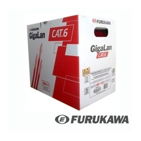 Cable Red Furukawa 100% Cobre Interior Cat6 Red Interna