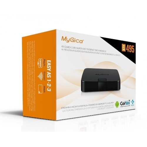 Android Box Loolipop Atv495 Pro Hdmi 4k Wifi A/c Ultra Hd - Royal Systel Informatica SRL