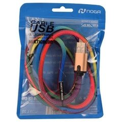 Cable Micro Usb Noganet Mod. Usb L20 1mts 2.0 Amp Iphone