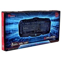 Teclado Thermaltake Tt Esport Challenger Prime Retro 3 Color