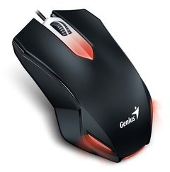 Kit Teclado Mouse Auricular Gamer Genius Kmh 200 Mouse Led