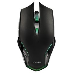 Premium Gaming Mouse Noganet Ares 2400 Dpi Cable Mallado Usb