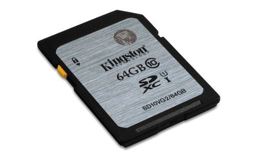 Memoria Sd 64gb Kingston Clase 10 Full Hd Camara Graba Royal