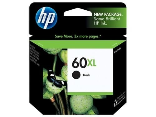Cartucho Original Hp Negro 60xl - Rend. 600 Pág Royal2002