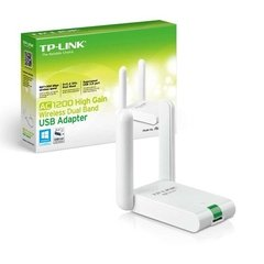 Adaptador Wifi Usb 3.0 Tp Link Archer T4uh Dual Band Ac1200
