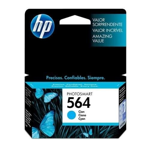 Cartucho Original De Tinta Cian Hp 564 3,5 Ml Royal2002 - comprar online