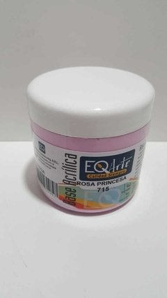 Base Acrilica EQ x 200 cc , Color Rosa princesa
