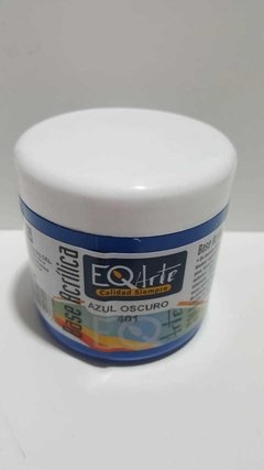 Base Acrilica EQ x 200 cc , Color Azul oscuro
