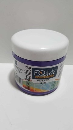 Base Acrilica EQ x 200 cc , Color Violeta